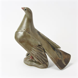 Art deco ceramic bird sculpture main view