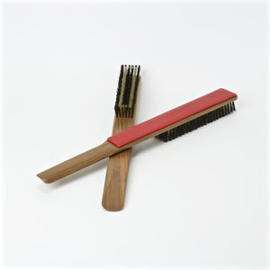 Swank clothes brush and shoe horn set for him and her