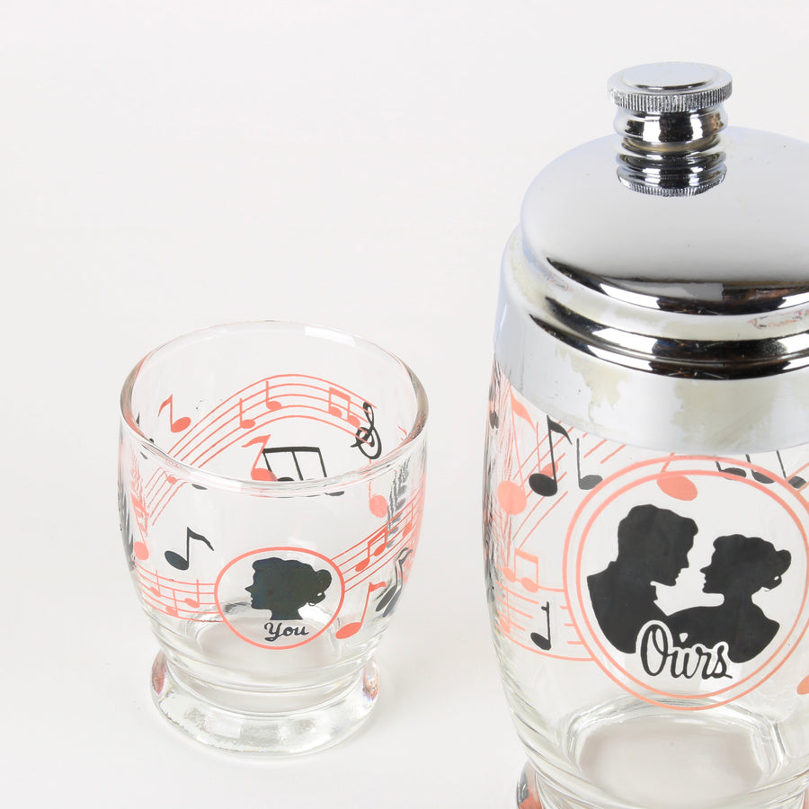 His and Hers Cocktail Shaker Set