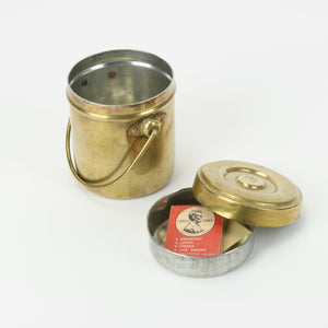 Lakhi Brass Stacked Tin Compartments