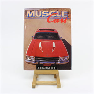 Muscle Cars book by Richard Nichols, copyright 1985
