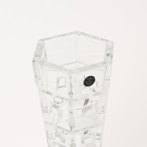 Rosenthal Classic crystal vase closeup view