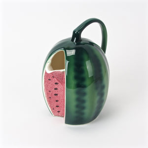 Hand painted Shafford watermelon water pitcher