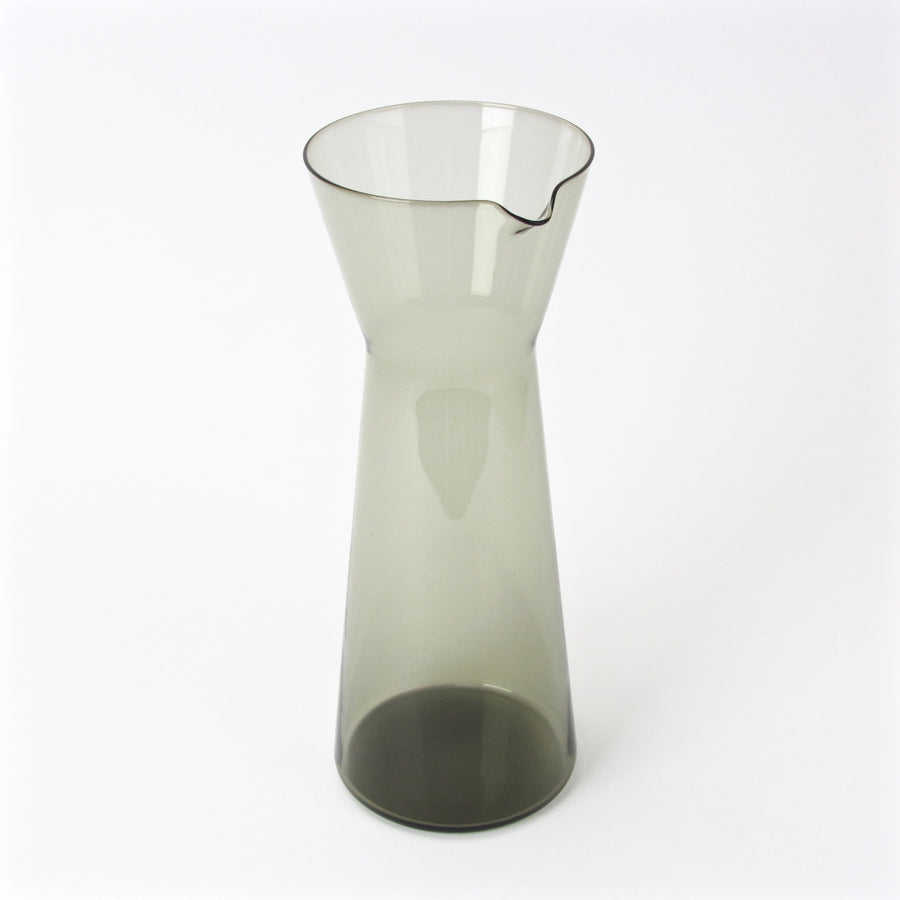 Kaj Franck design decanter in smoked glass main view