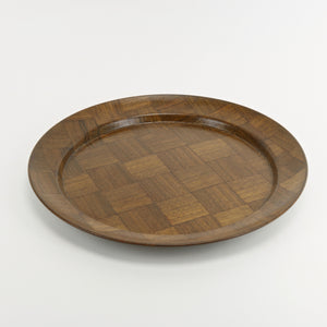 Weavewood solid walnut serving platter