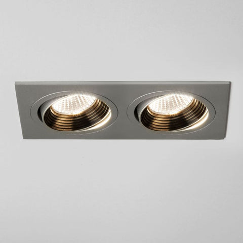 Aprilia Twin Adjustable Downlights/Recessed Spotlight - Astro.