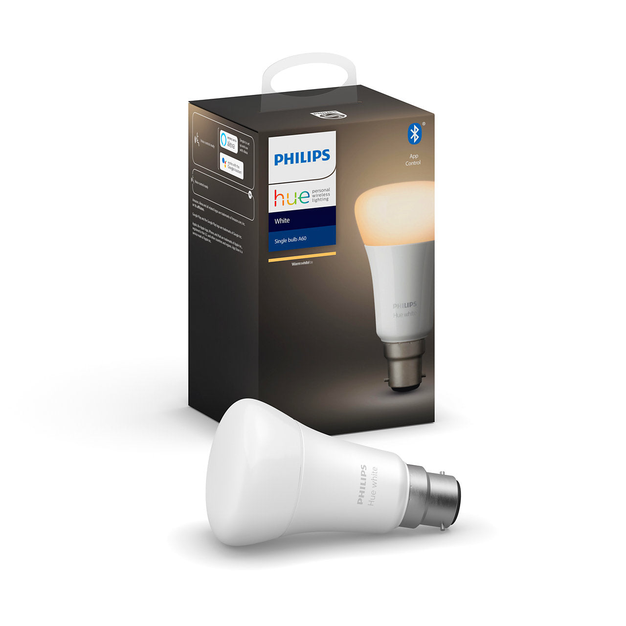 LAMP LED B22 A60 WHITE HUE - Philips.