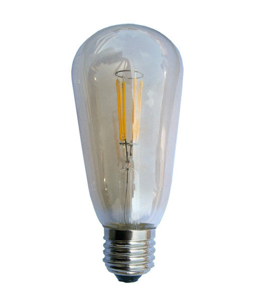 4W LED Filament ST57 Pear Lamp - CLA Lighting