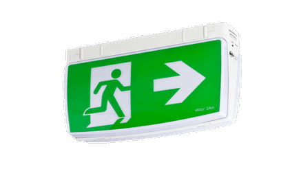 Mercury LED Exit Sign Surface Mounted (3131) - Evolt