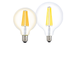8W Filament Spherical LED dimmable full glass lamps - Lusion