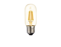 8W Filament T45 LED dimmable full glass lamps - Lusion.