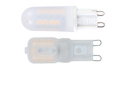 LED G9 lamp 2.5W/4W Frosted - Lusion