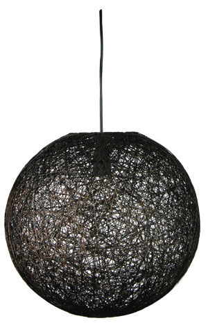 Abaca Stained Kono Pendants - Oriel Lighting