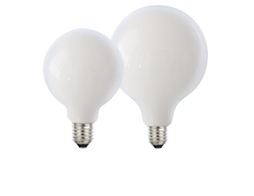 Opal Spherical LED dimmable full glass lamps 8W - Lusion.