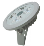 12w LED Base Mount Garden Lights