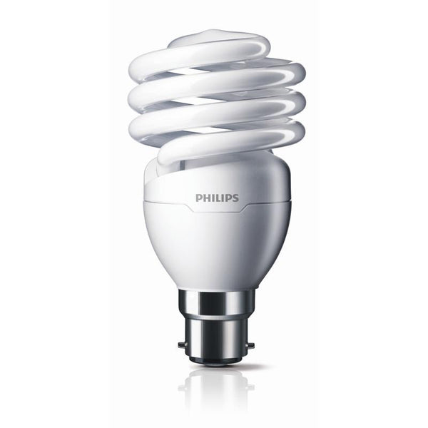 Tornado Spiral Compact Lamp - Philips Compact Fluorescent Philips Small Bayonet Cap 5w Warm White