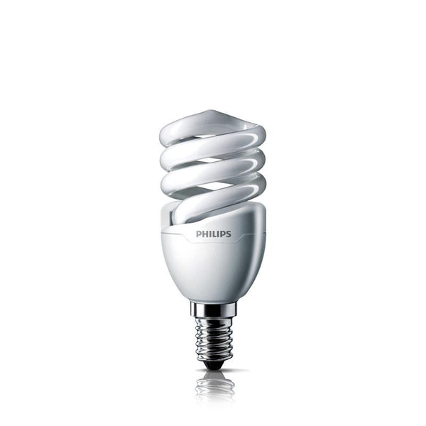 Tornado Spiral Compact Lamp - Philips Compact Fluorescent Philips Small Edison Screw 5w Warm White