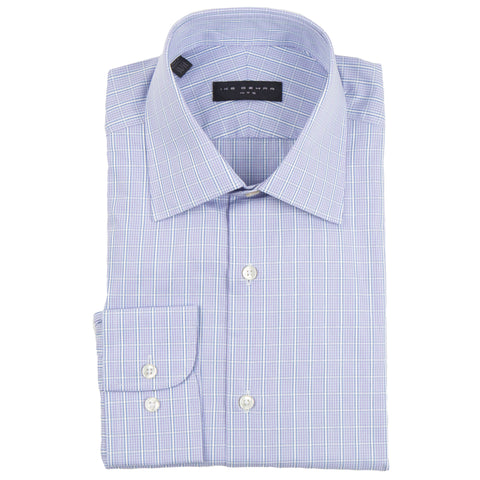 Crosby Lavender Open Check Dress Shirt