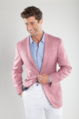 Rosa Blue Window Pane Sport Coat