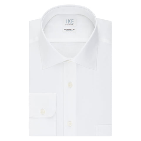 Kinley White Basic Dress Shirt