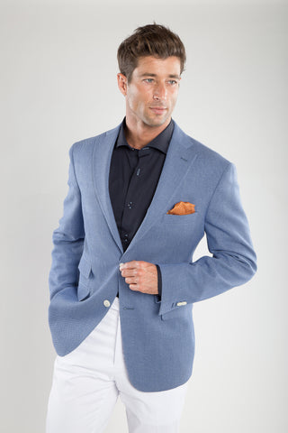 Summer Blend Light Blue Sport Coat
