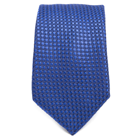 Weave Color on Color Cobalt Tie