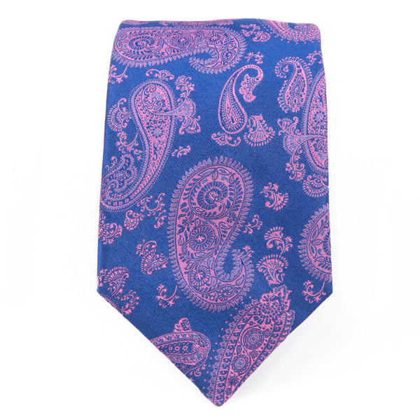 Royal Pink Preakness Paisley Tie