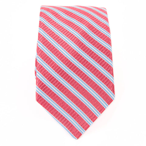 Red Cabana Stripe Tie