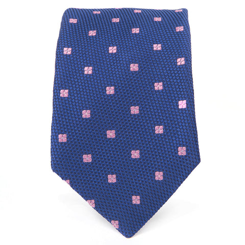 Blue Pink Wardrobe Dot Tie