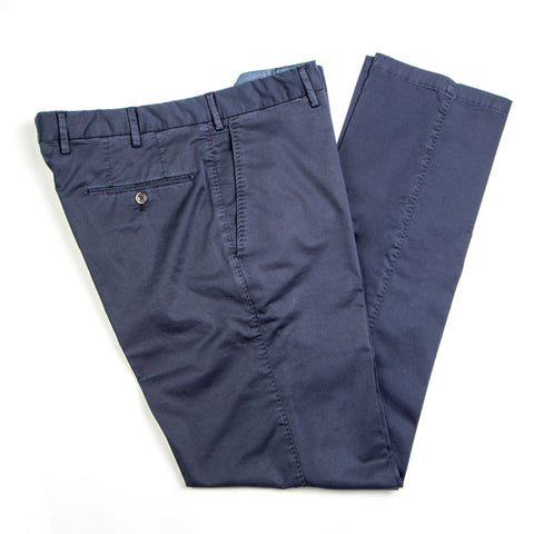 Enzyme Washed Navy Cotton Pants