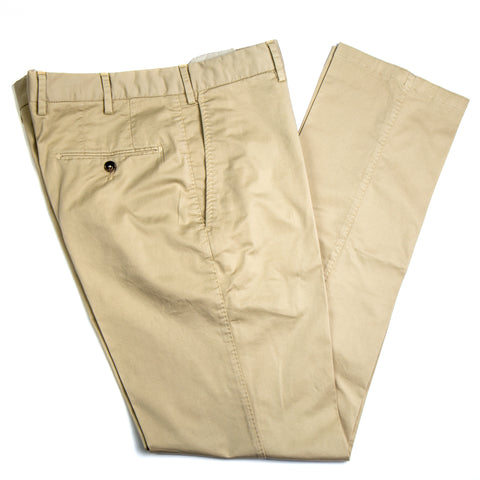 Enzyme Washed Tan Cotton Pants