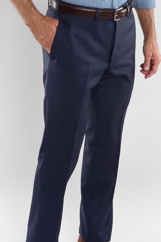 Navy Blue Basic Dress Trousers