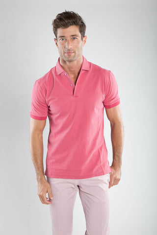 Short Sleeve Pink Knit