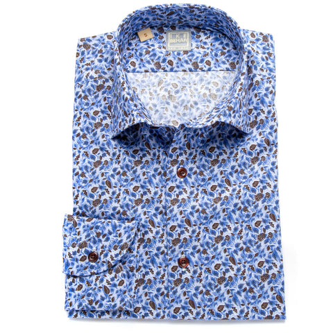 Ricky Floral Print Sport Shirt