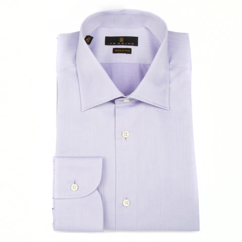 Milano Soft Lavender Twill Dress Shirt