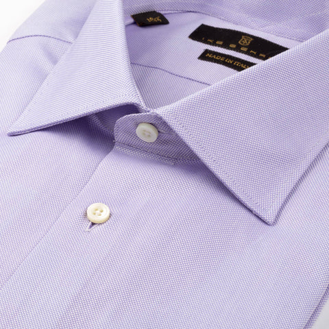 Milano Lilac Royal Oxford Dress Shirt