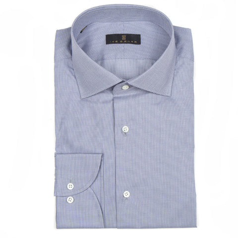 Milano Gray Mini Houndstooth Dress Shirt