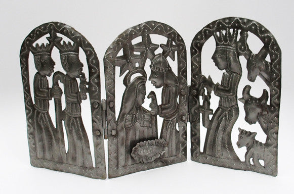 Nativity - Metal - Tri-Fold