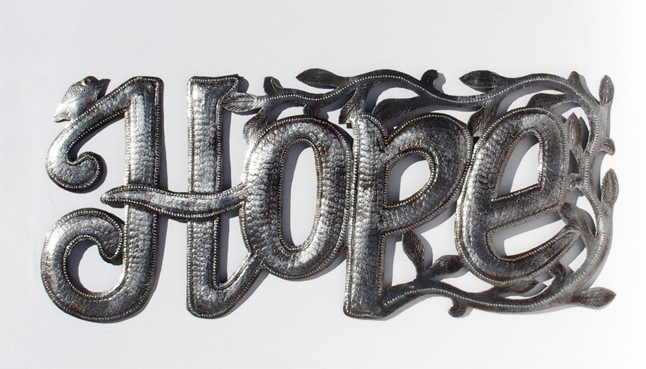 Wall Art - Metal - Hope