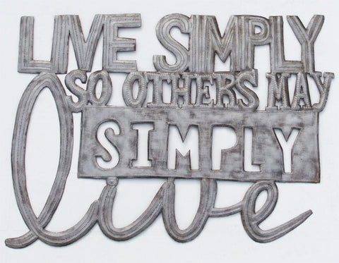 Wall Art - Metal - Live Simply