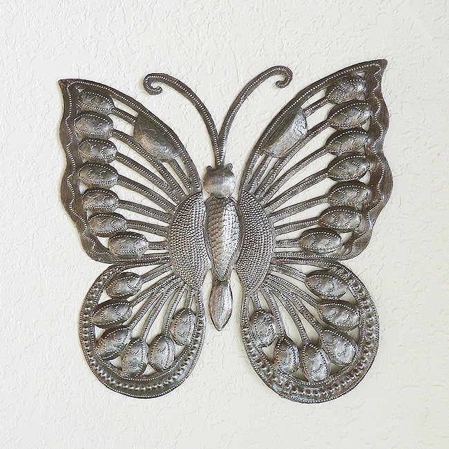 Wall Art - Metal - Butterfly Large