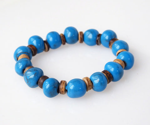 Bracelet - Ceramic - Simple - Various Colors