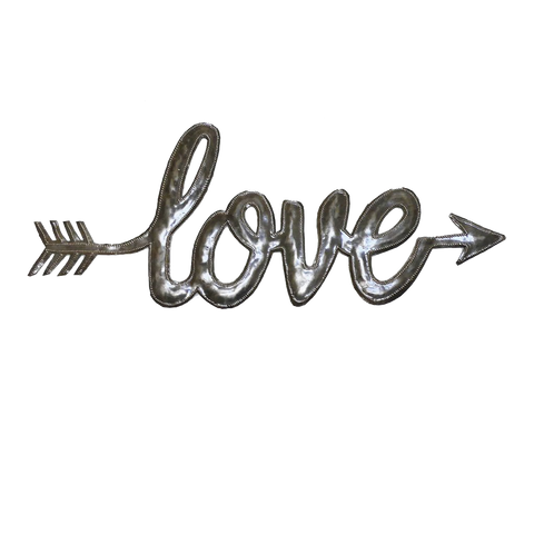Wall Art - Metal - Love Arrow
