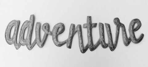 Wall Art - Metal - Adventure