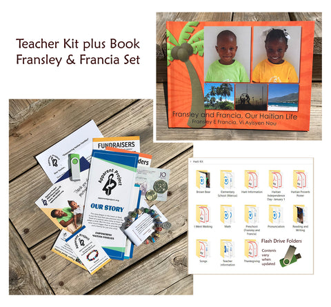 *Teacher Kit plus Book Set - Fransley and Francia, Our Haitian Life