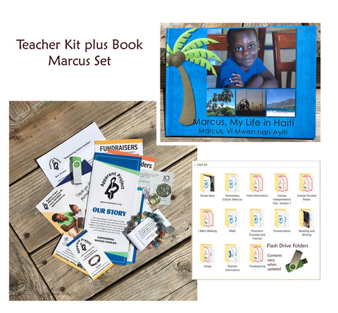Teacher Kit plus Book Set - Marcus, My Life in Haiti