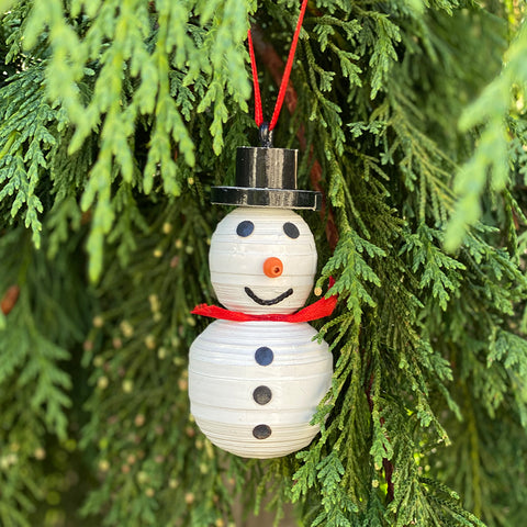 Ornament - .Cereal Box - Snowman