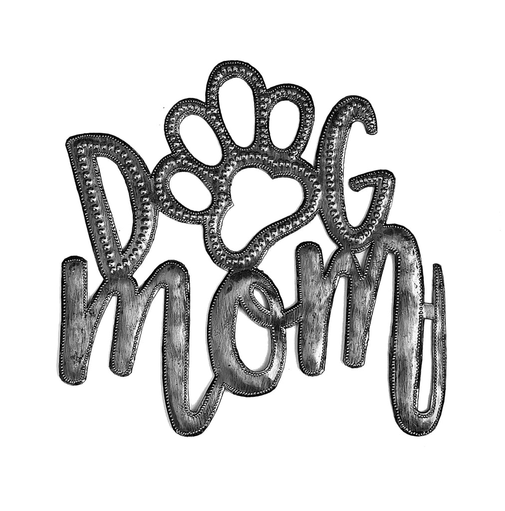 .Wall Art - Metal - Dog Mom