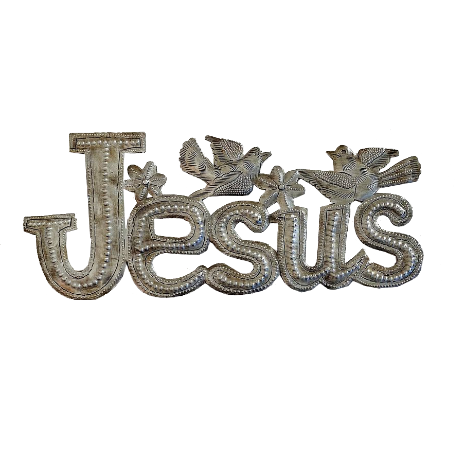 Wall Art - Metal - Jesus with Birds