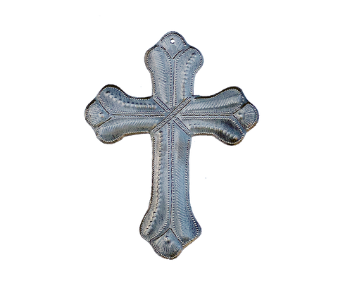 Wall Art - Metal - Cross - Medium - Designs Vary